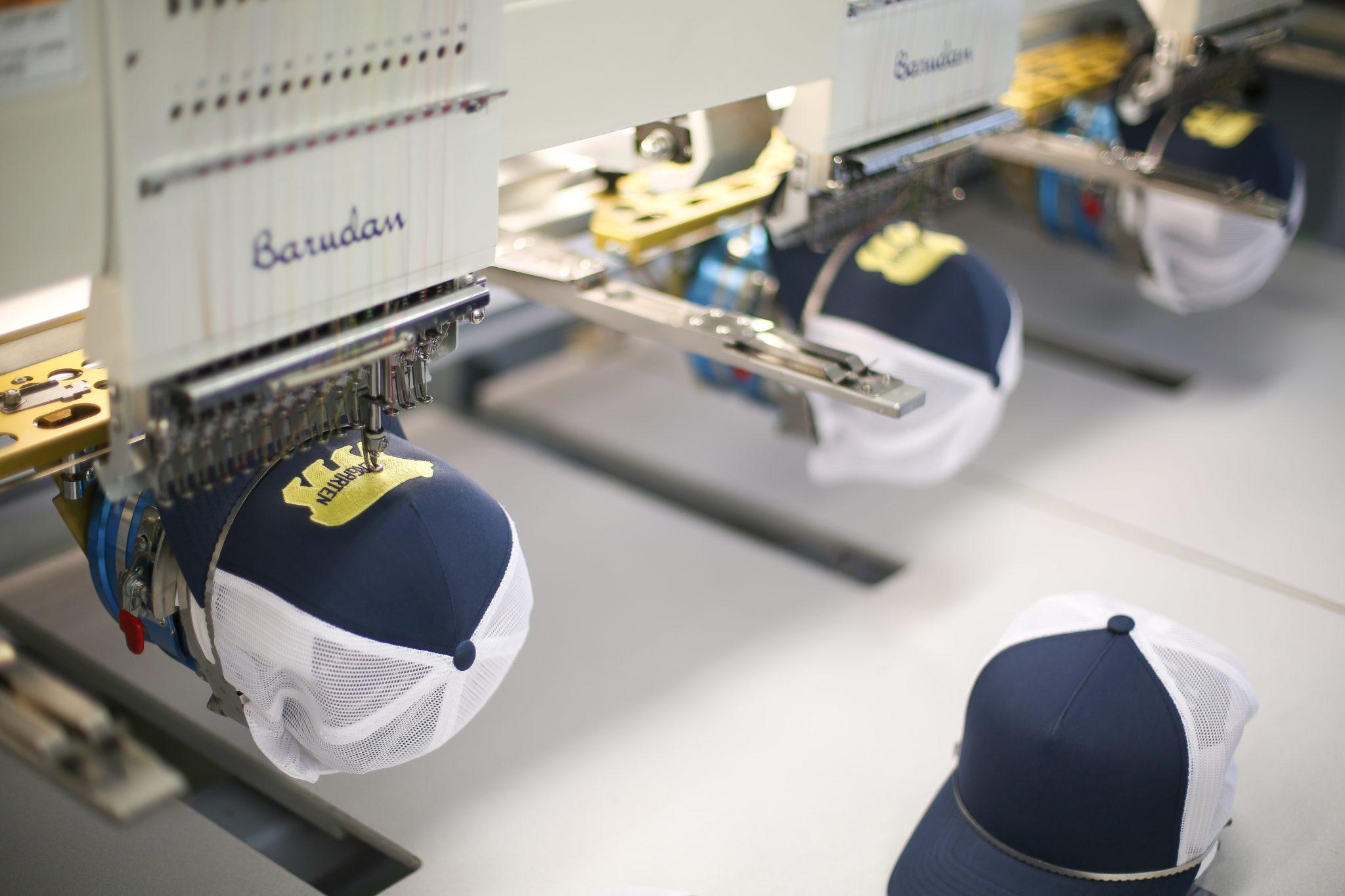 printing hats