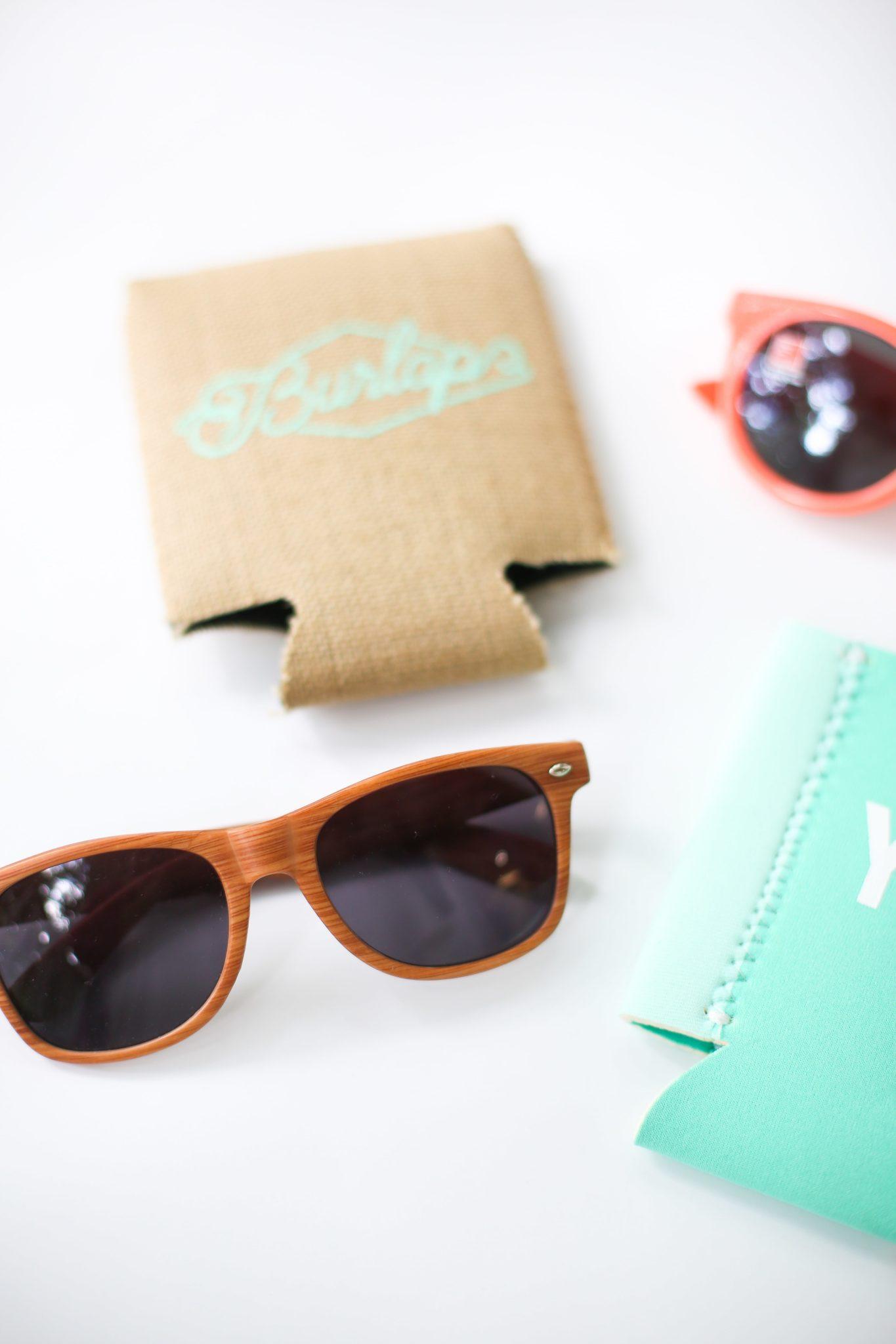 charleston cotton exchange custom printed wallets and glasses