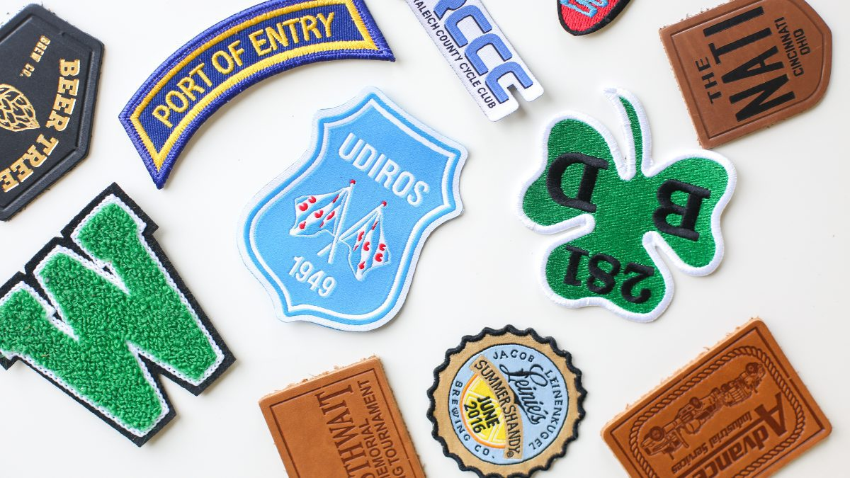 different custom patches